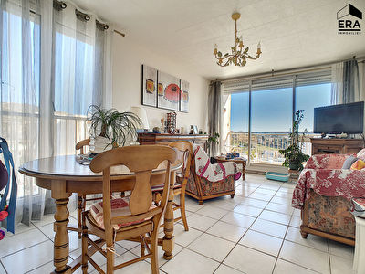 A VENDRE APPARTEMENT 3 PIECES BALCON PARKING PRIVE MARSEILLE 13014