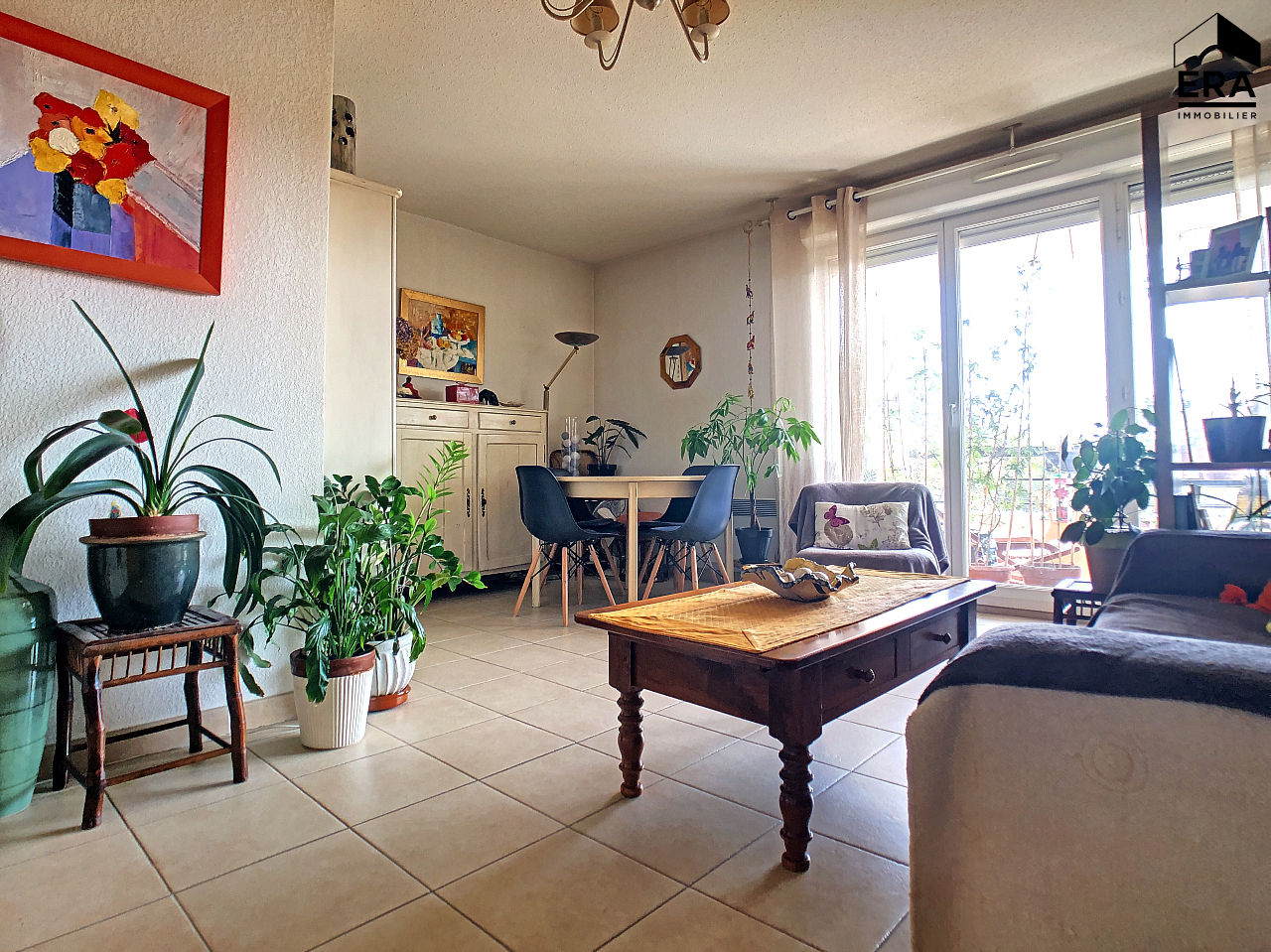 A VENDRE MARSEILLE ST MARTHE 13014 APPARTEMENT RECENT T3 TERRASSE GARAGE PARKING